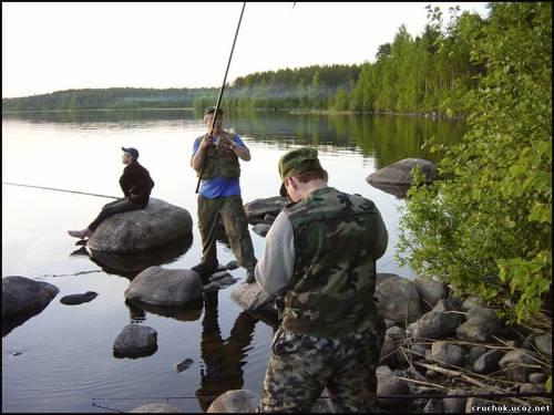 поездка получай рыбалку во  подарок