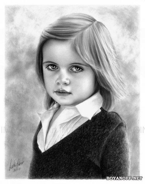Рисунок в карандаше от Linda Hube