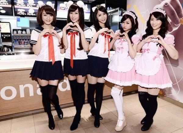 Япония — родина сексуальных извращений. И чего там только не придумают!