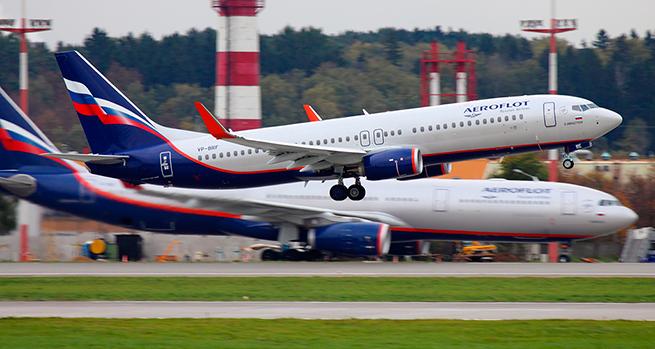 """На коротких рейсах """"Аэрофлота"""" появится интернет"""