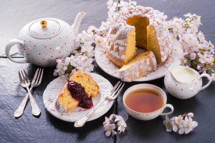 Рецепт кулича с шафраном и кардамоном