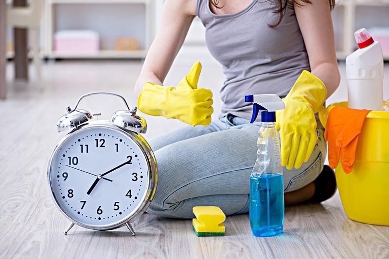 Что можно убрать в доме, если у вас есть только 10 минут