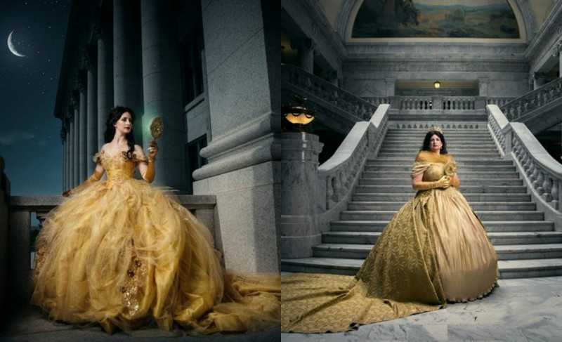 И жили долго и счастливо: американский фотограф показал повзрослевших диснеевских принцесс