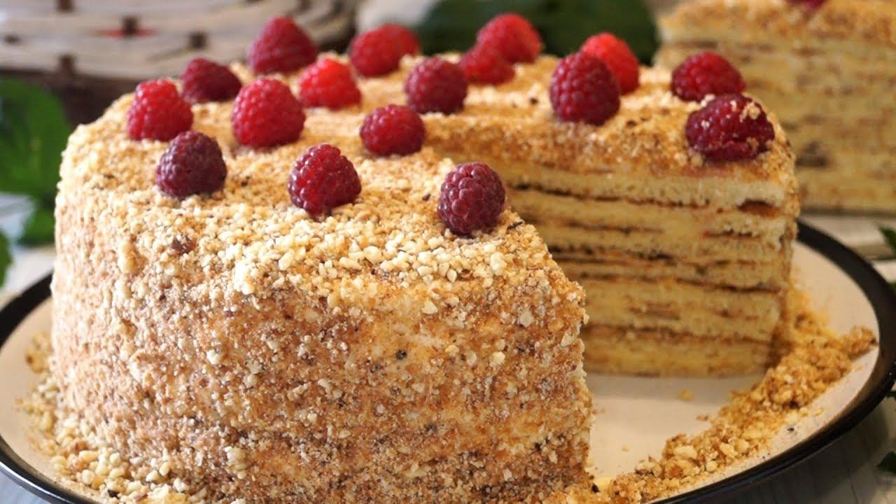 Бесподобно вкусный тортик без духовки. Потрясающе нежный и очень вкусный!