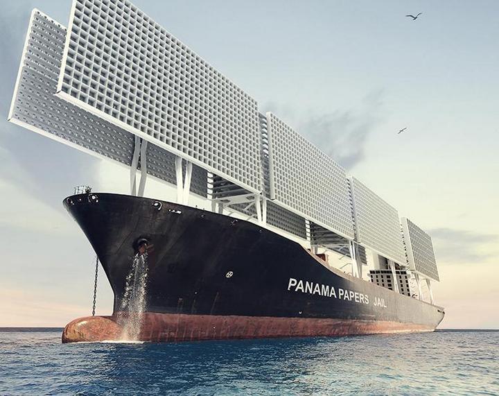 Французские архитекторы разработали проект тюрьмы-корабля