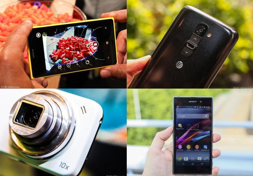Четыре смартфона с лучшими встроенными камерами