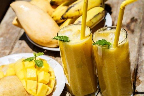 Картинки по запроÑу Манго-лимонный коктейль Ð´Ð»Ñ ÑнÑÑ'Ð¸Ñ ÑтреÑÑа и тревоги