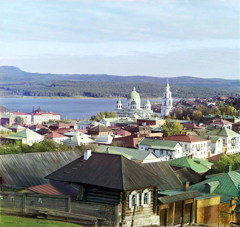 Фото русских городов  начала 20 века.