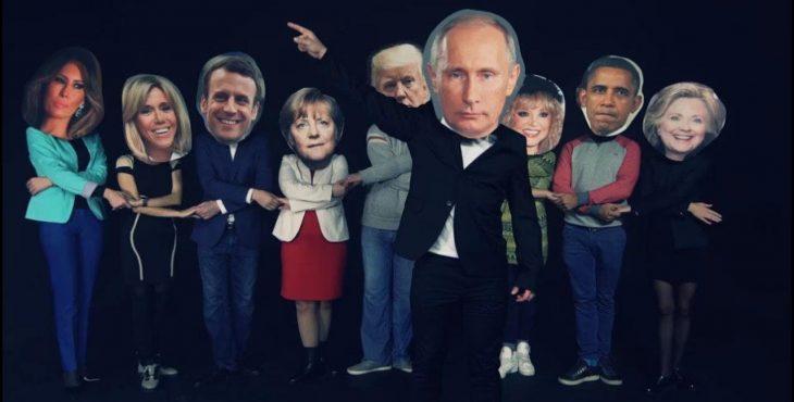 Поздравление Путина с днём рождения от «Трампа» и «Меркель» стало хитом YouTube