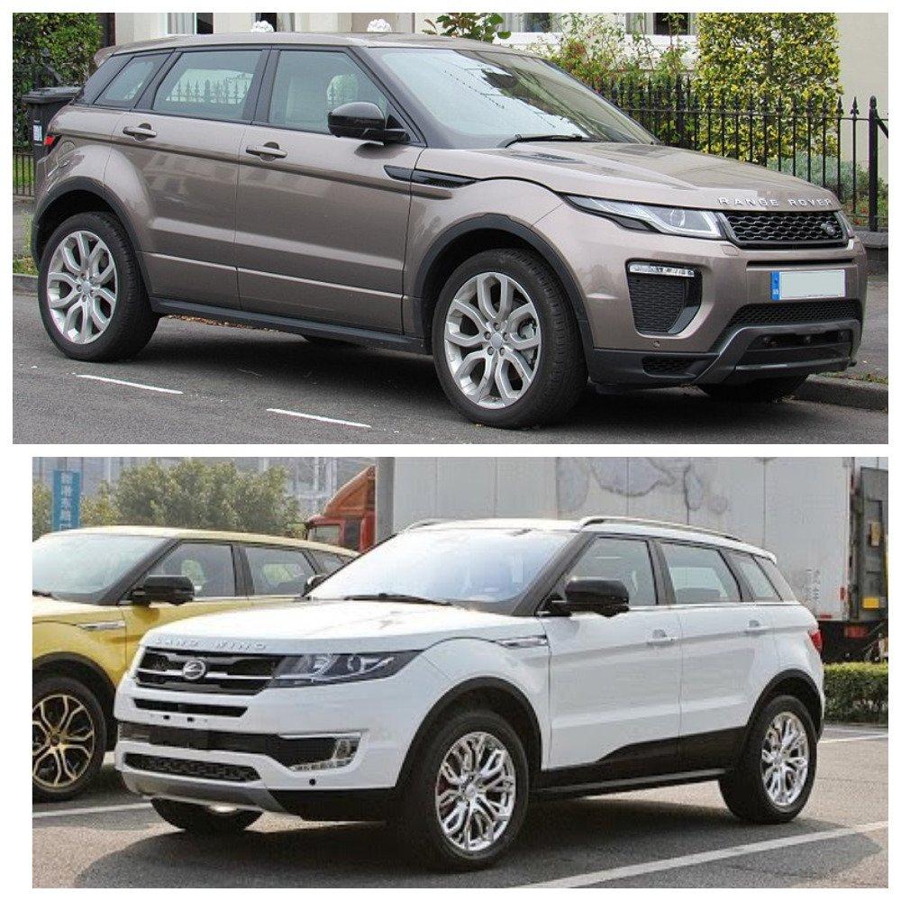 Jaguar Land Rover засудил китайского производителя за плагиат дизайна автомобиля