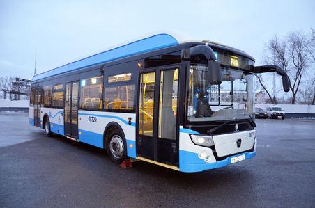 Электробус ЛиАЗ-6274 проходит обкатку в Москве