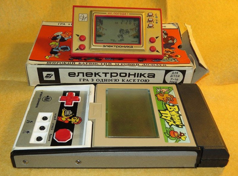 Редкие электронные игрушки СССР: фотоподборка