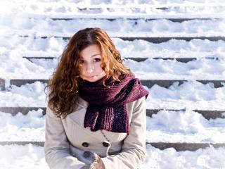 Самочувствие женщины зимой