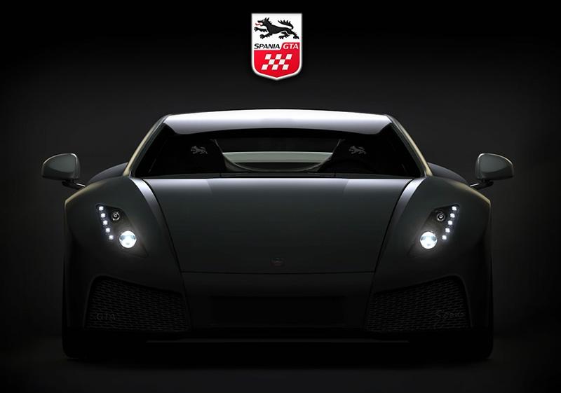 Spania GTA Spano держит свой путь в Женеву