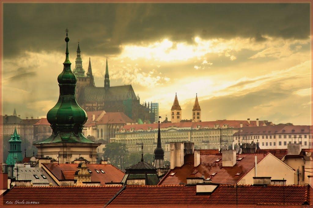 Собор Святого Вита в Праге - шедевр готической архитектуры