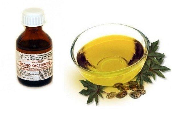Касторовое масло - от мимиче…