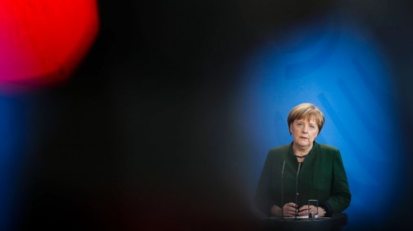 Падение Меркель