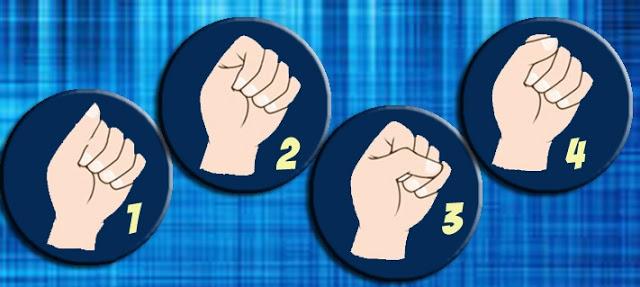 Сожмите ладонь в кулак и узнайте свой тип личности