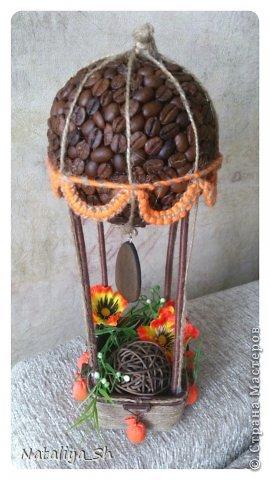 Мастер-класс Поделка изделие Моделирование конструирование Воздушный кофе-шар МК Кофе Шпагат фото 23
