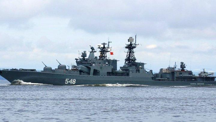 """Казус """"Адмирала Виноградова"""". США хотели показать, кто в море хозяин, но стали посмешищем для всего мира"""