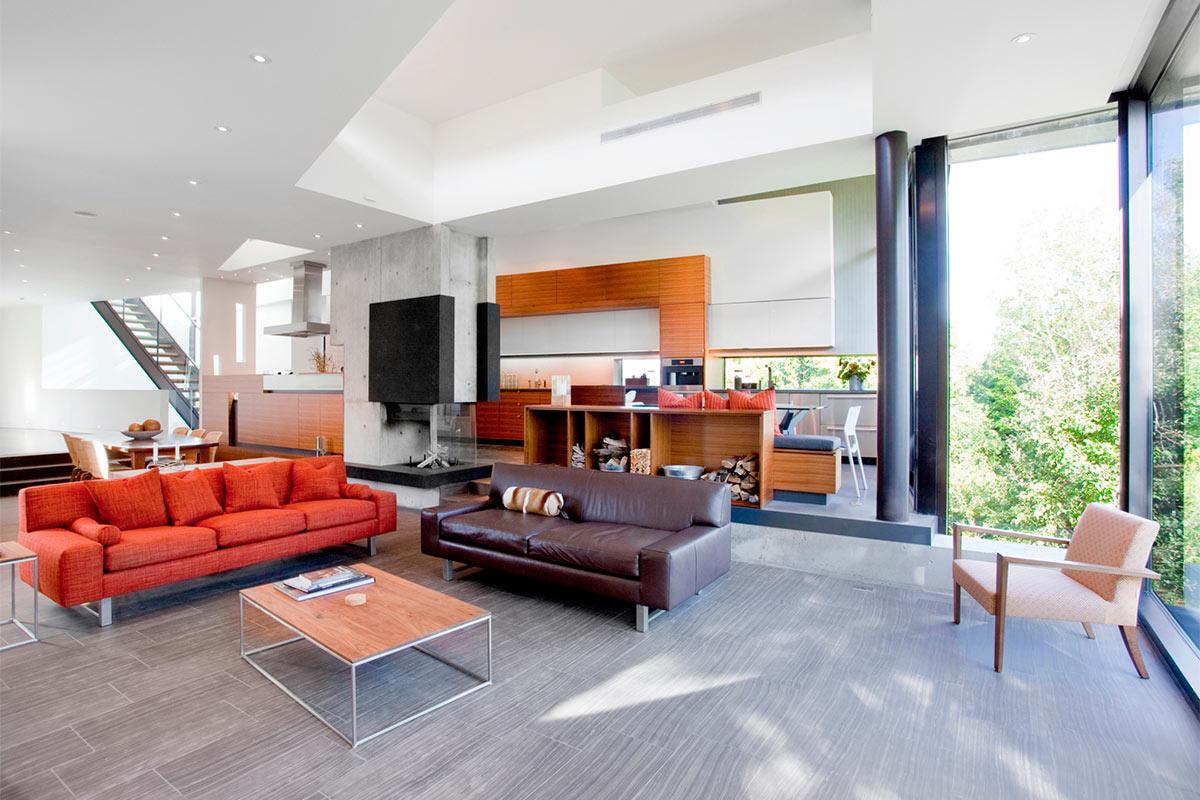 Дизайн частного дома в Канаде