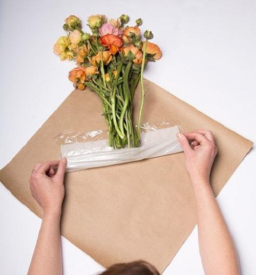 Упаковка букетов с мастер классом