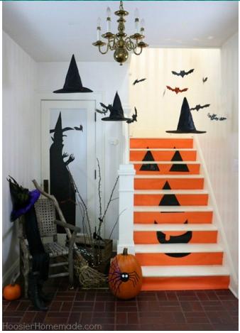 Хеллоуинская лестница
