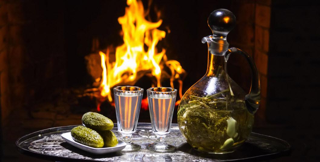 Три простых самодельных вкуса для водки