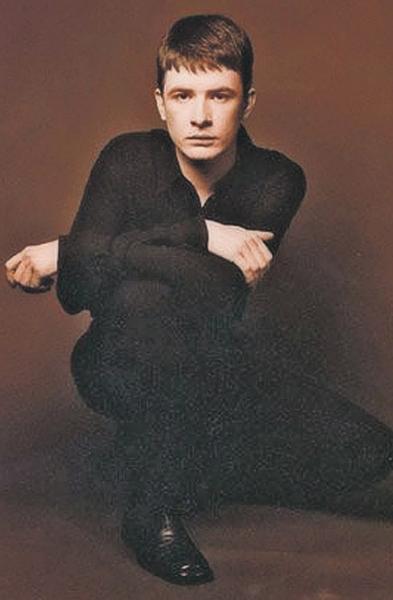 Андрей Данилко в молодости. Фото