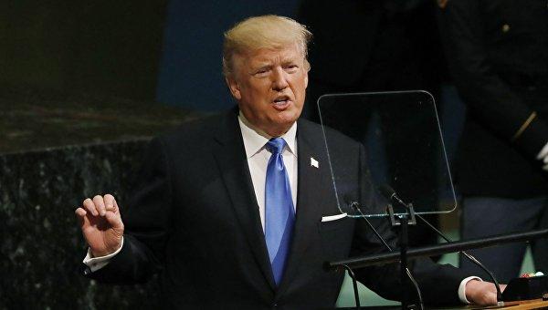 Трамп пошумел в ООН