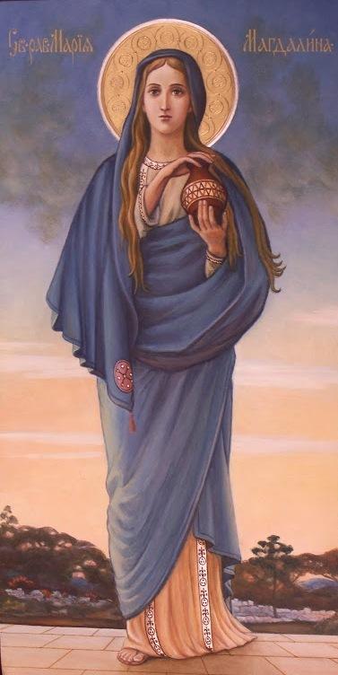 святая равноапостольная Мария Магдалина. Икона