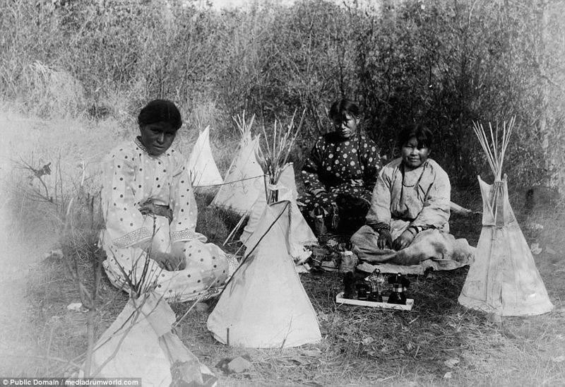 Женщины-северные шайенны, 1907 год аборигены, индейцы, исторические кадры, история, племена, редкие фото, сша, фото