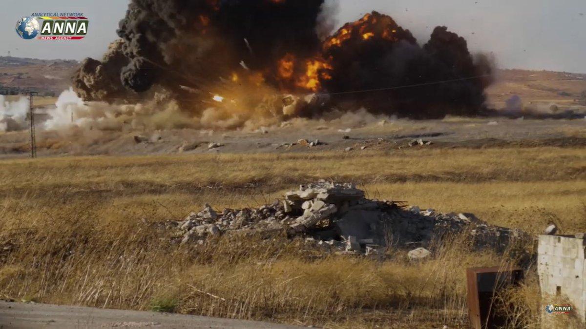 Крах обороны Эль-Латаминского выступа
