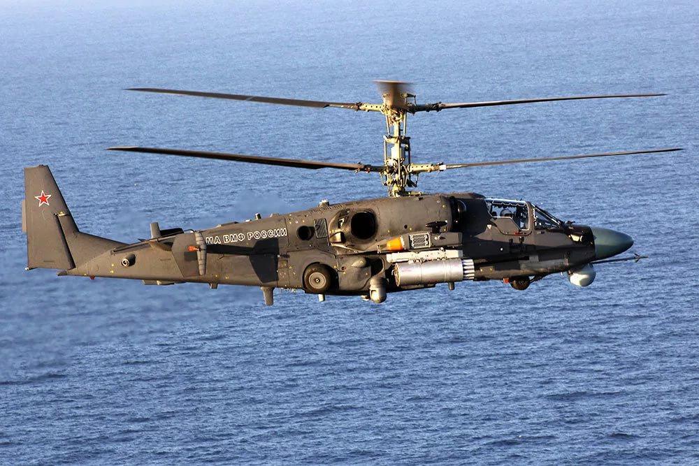 Новый палубный вертолёт испытали в море