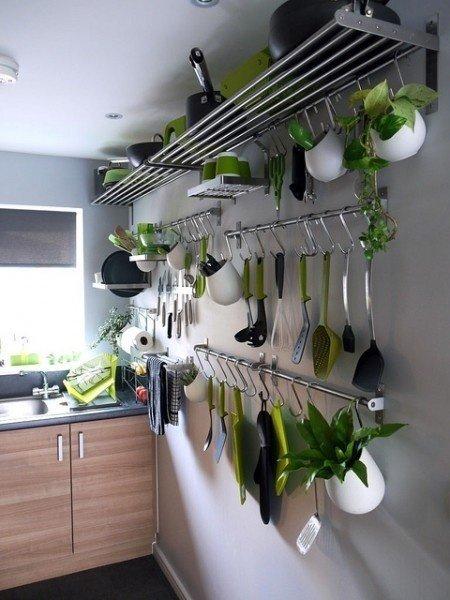 5  идей и 35 примеров обустройства узкой кухни