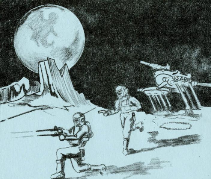 Громовые палки Луны. Оружие для гарнизона лунных баз Армии США.