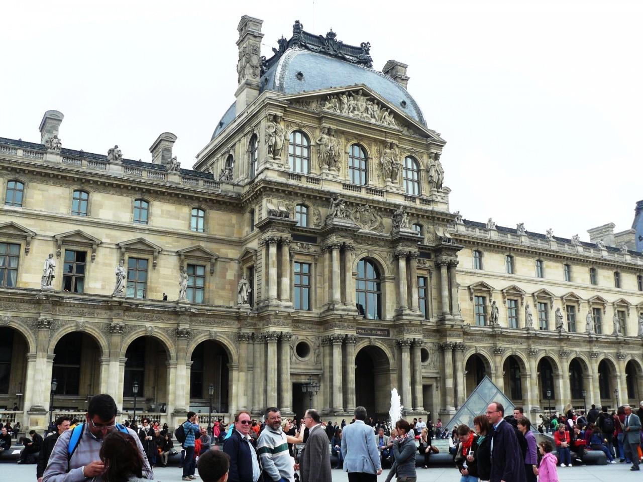 ПО волнам моей памяти... Лувр