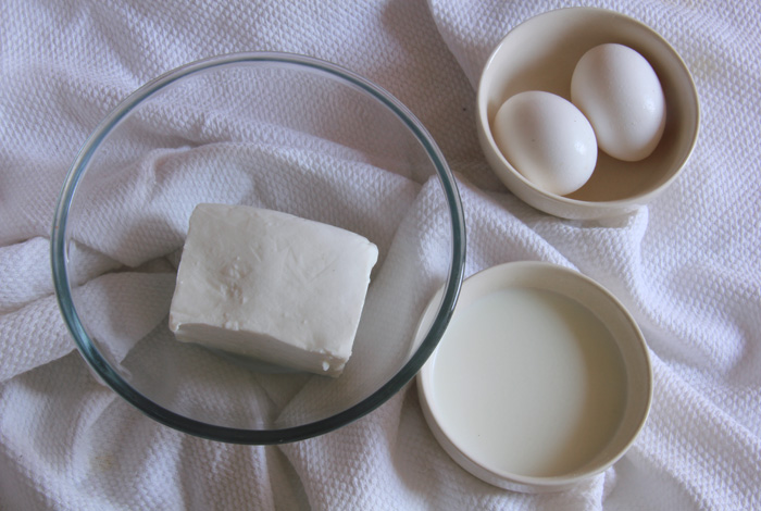яйцо, молоко, творог