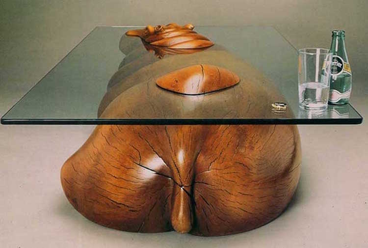 nature-inspired furniture animal tables derek pearce