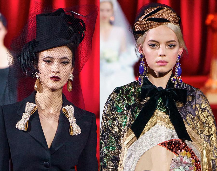 Женские шляпки Dolce & Gabbana