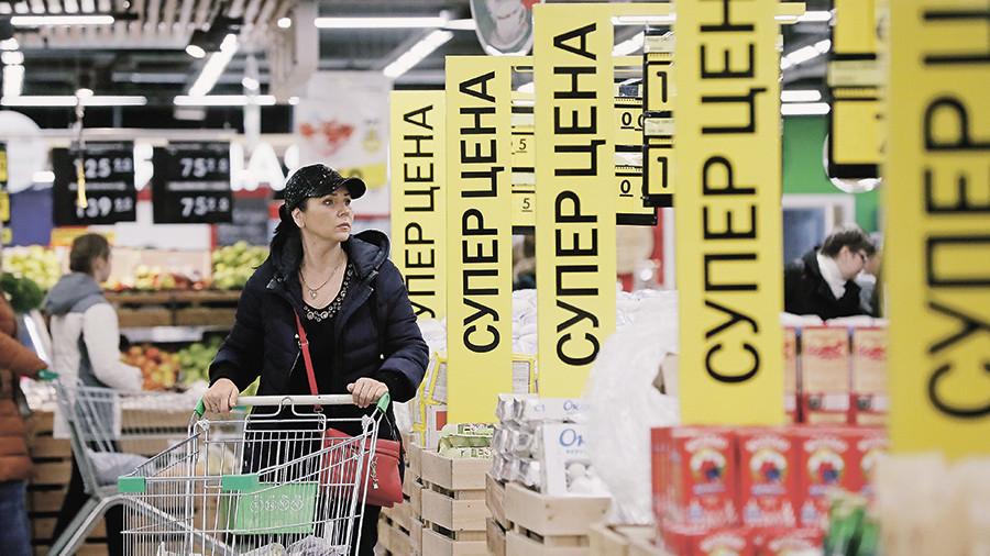 Москвичи платят за продукты почти на 1 тыс. руб. больше, чем жители других регионов РФ