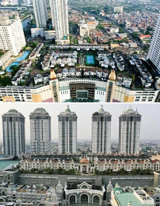 Такого рода поселки способны решить сразу несколько важных проблем Джакарты (Cosmo Park, The Villas).
