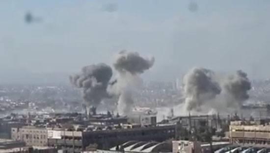 Тяжёлые бои в промзоне близ Дамаска