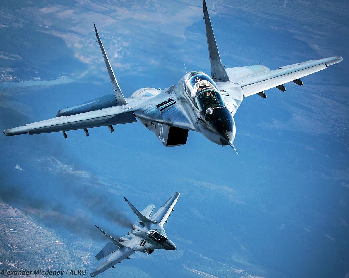 Болгарское правительство одобрило программы ремонта истребителей МиГ-29 и штурмовиков Су-25