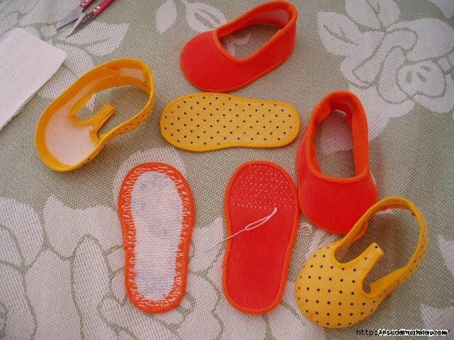 Как сшить обуви своими руками