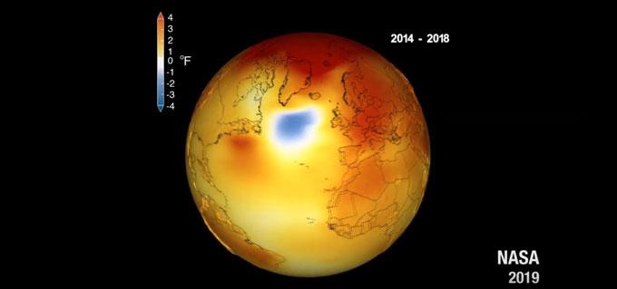 Североатлантическая температурная аномалия