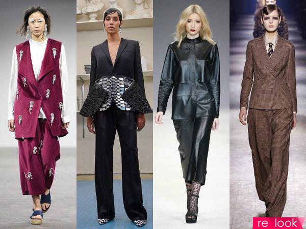 Руки в брюки —  все о стильных костюмах 2017