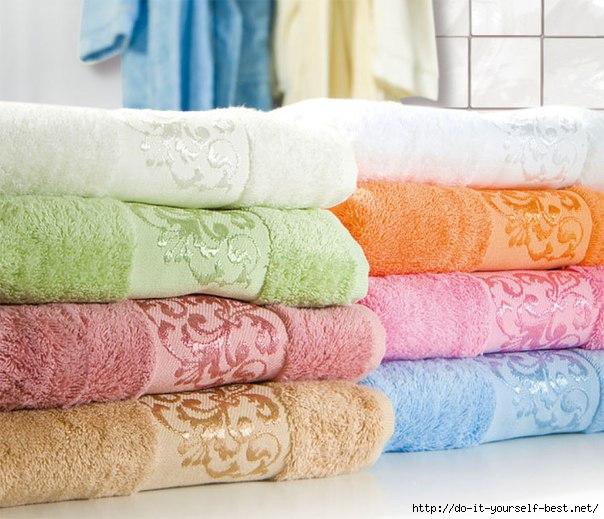 Как сделать махровые полотенца снова мягкими...