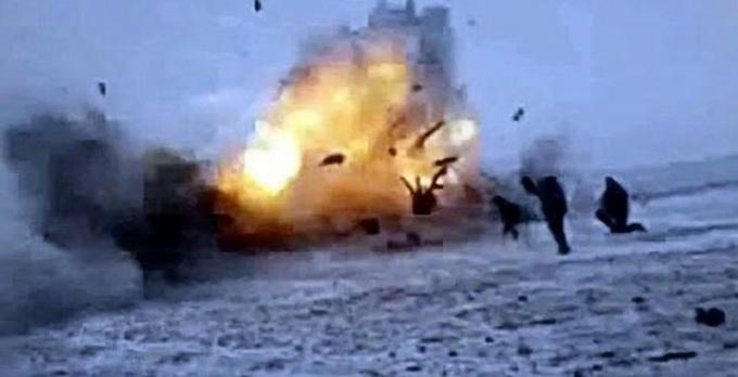 На позициях украинской армии самоподорвались два крупных кондиционера