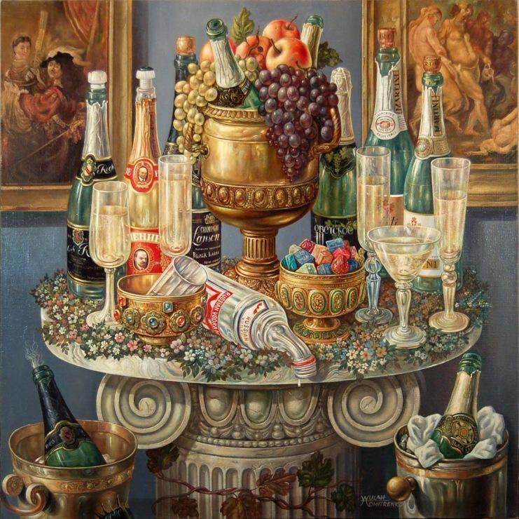 Шампанское может сделать душу бессмертной.... Оскар Уайльд
